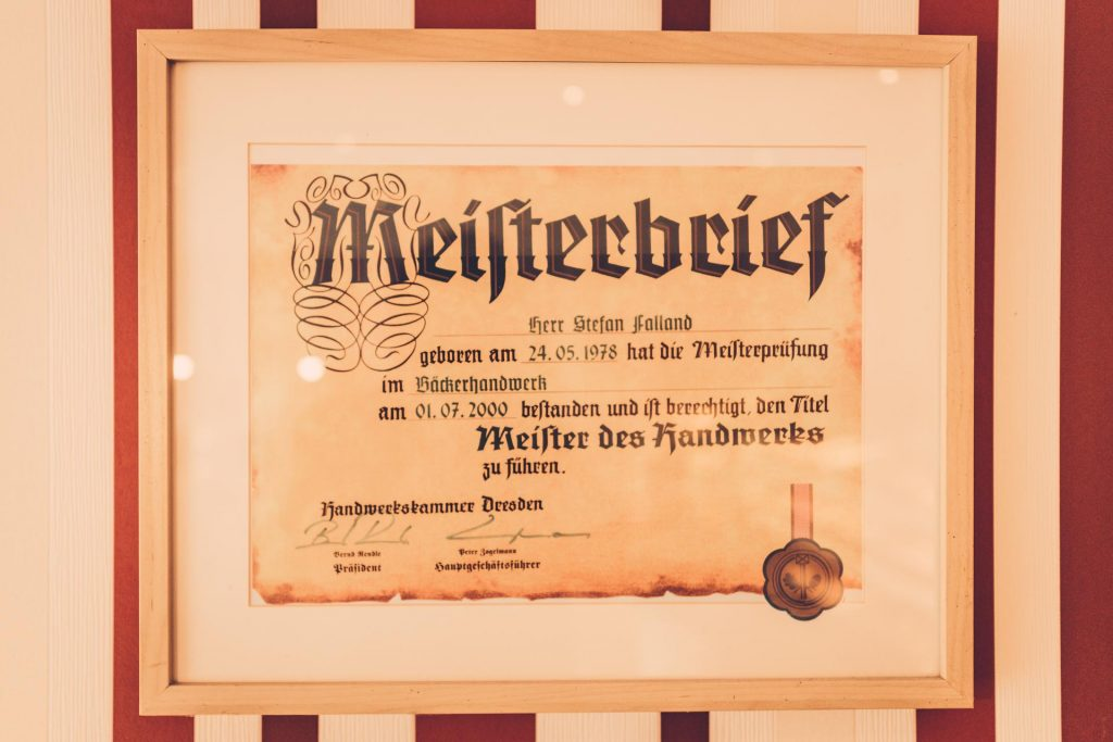 Bäckermeister Falland Leipzig